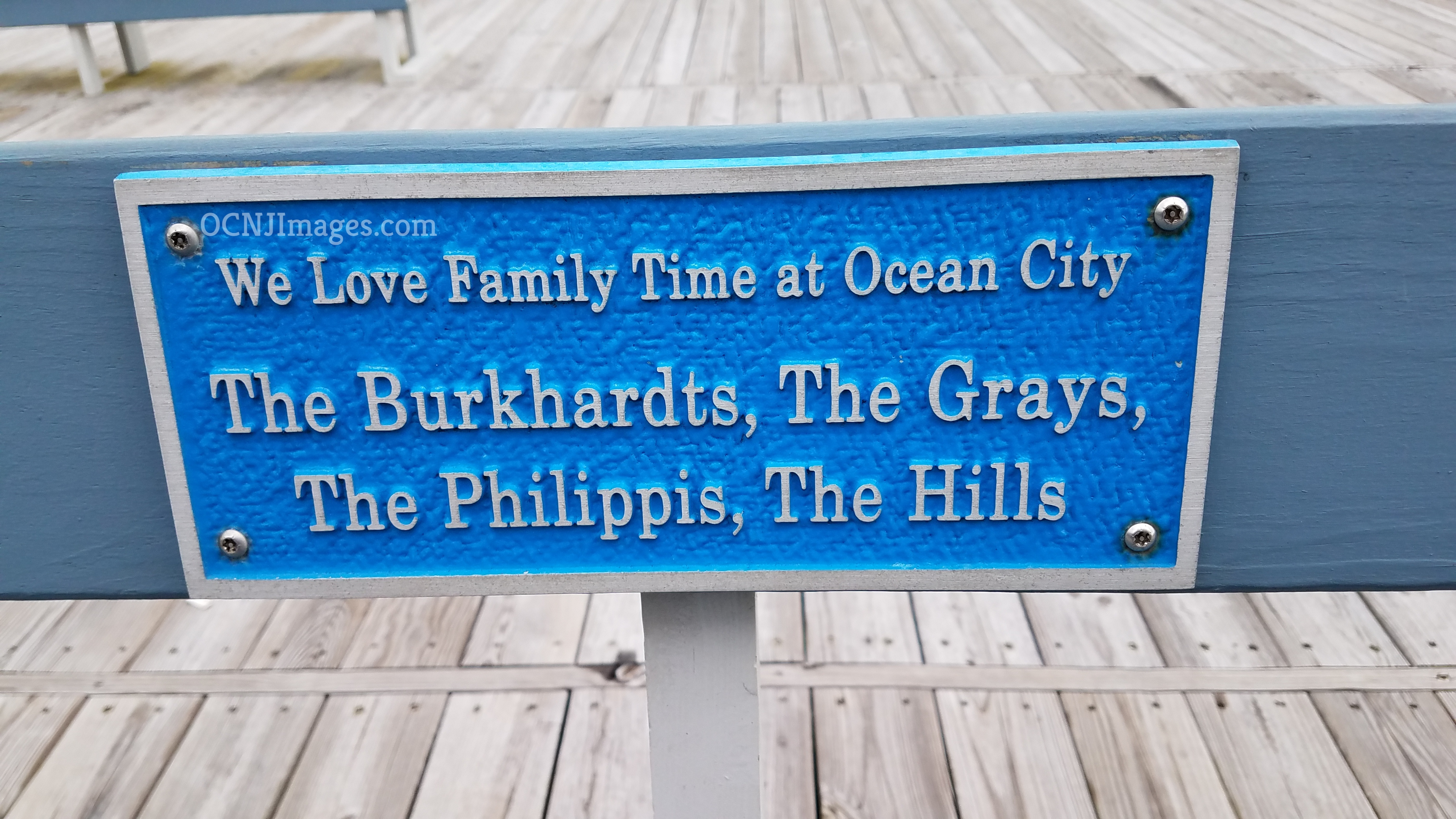 The Burkhardts, The Grays, The Philippis, The Hills