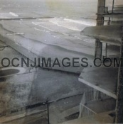 1st and 2nd Street Beach From Roof Top Gardens Plaza - 1973