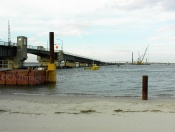 Longport Bridge Construction 200