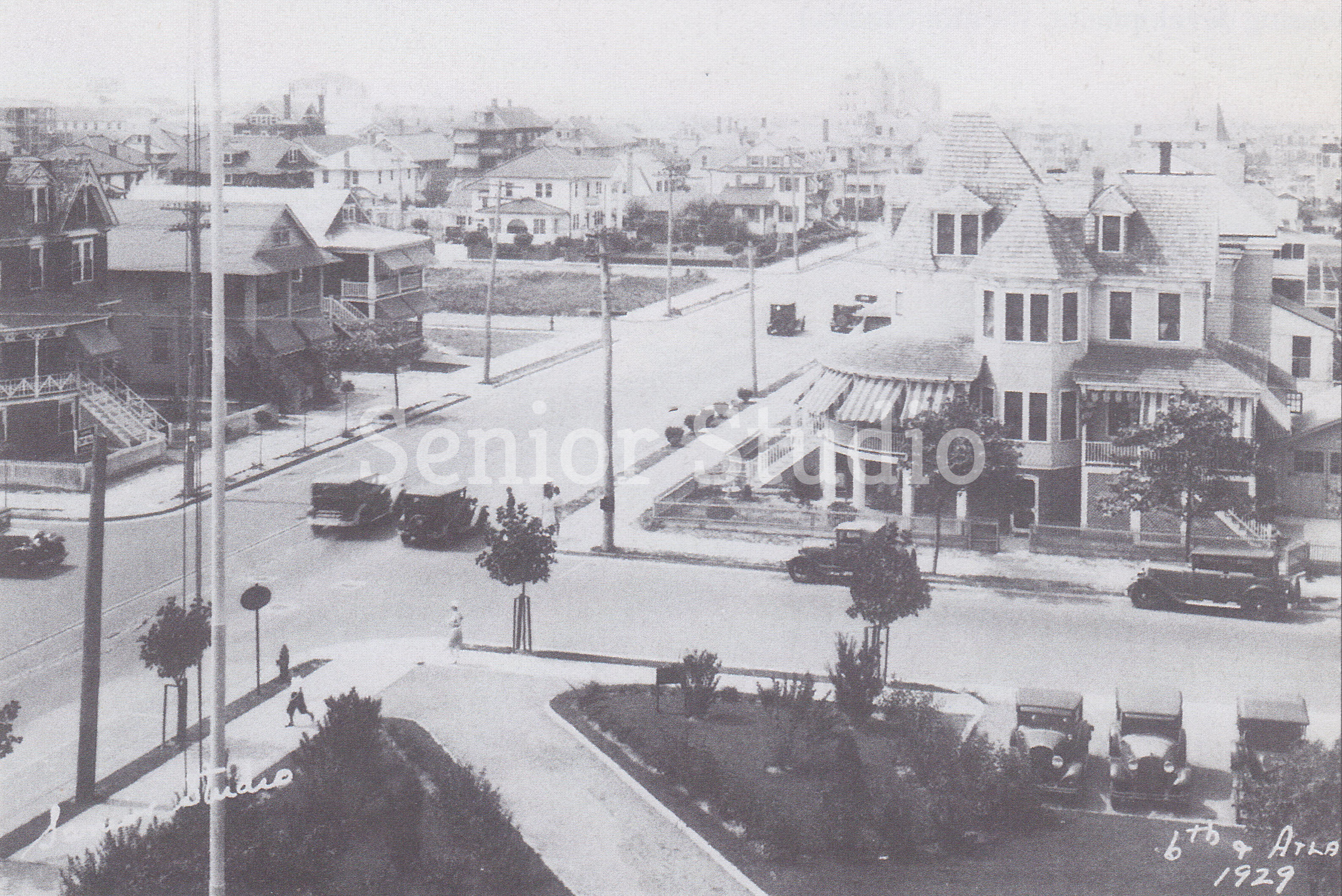 6th & Atlantic Ave - 1929 - Credit Senior Studio