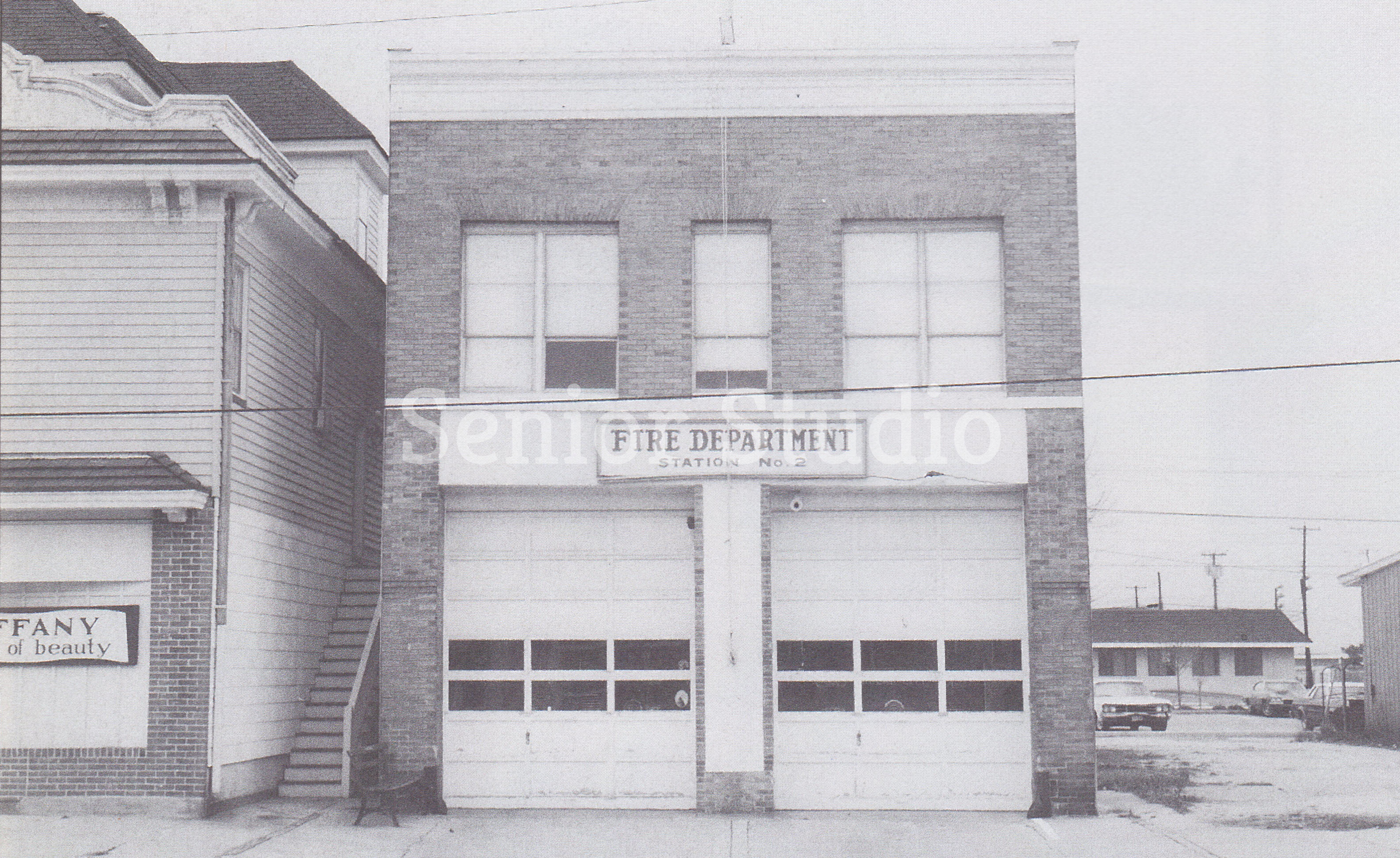 6th Street Fire House - Year Unknown - Credit Senior Studio