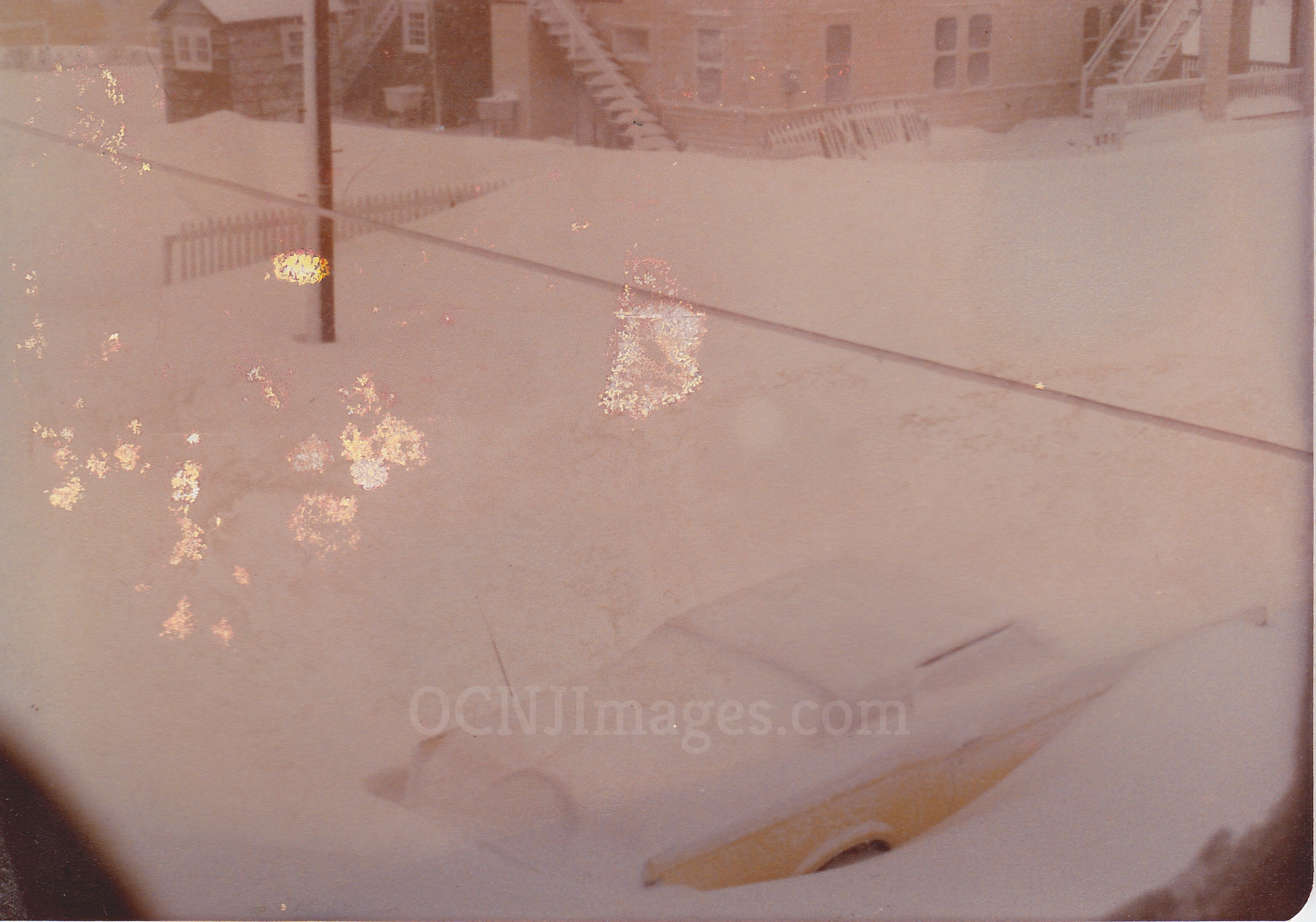 1978 Blizzard - February - In front of 104 Atlantic Ave
