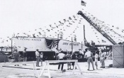 Flying Saucer 1953 Launch