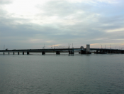 View of 9th St Bridge From 8th St Ocean City nj 2002