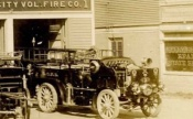 1908 OCFD 's first motor car. The 1908 Seagrave, manufacturer number #3663 Credit: Ryan Scharff