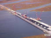 9.30.2007 Aerial views of the Route 52 Bridge construction on Rainbow Channel2