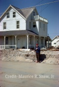 March 18th, 1962 - Standing In Front Of 5128 after Road Was Plowed By National Guard