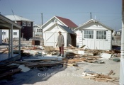 March 18th, 1962 - Anne Shaw Checks Out Debris Behind 5128 Central