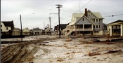 Ocean City, NJ - 1962 Storm - Beach Road and Gardens Road Looking South