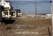 Ocean City, NJ - March 1962 Storm - Looking North Towards Beach Road and North Street